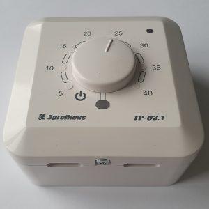 ЭргоЛюкс ТР-03.1 терморегулятор с внутренним и внешним (переключение) датчиком температуры